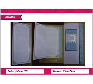 Undangan Soft Cover ADAM 120