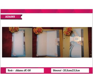 Undangan Soft Cover ADAM AC-08