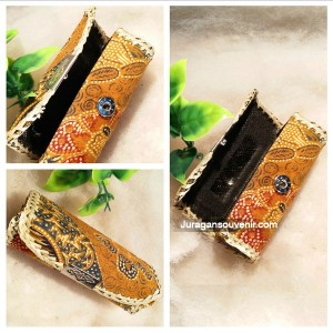 Tempat Lipstik Single Batik Kaca (TM02)