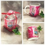 Gelas Mug Full Collor Coating / Stiker