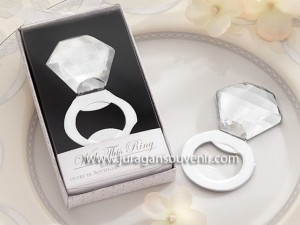 Diamond Ring Bottle Opener