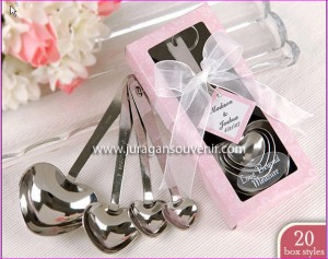 4 pcs spoon set pink packing