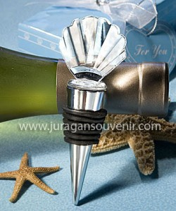 Crystal Seasheel Bottle Stopper