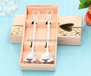 2 pcs Spoon Set Pink Packing