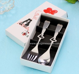 Spoon Fork White Packing