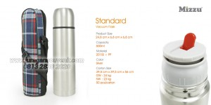 Standard Vaccum Flask Stainless