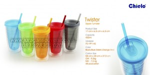 Twister Sipper Tumbler Botol